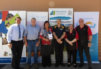MERREDIN CELEBRATES 'CBD UPGRADES – STAGE 1' IN STYLE