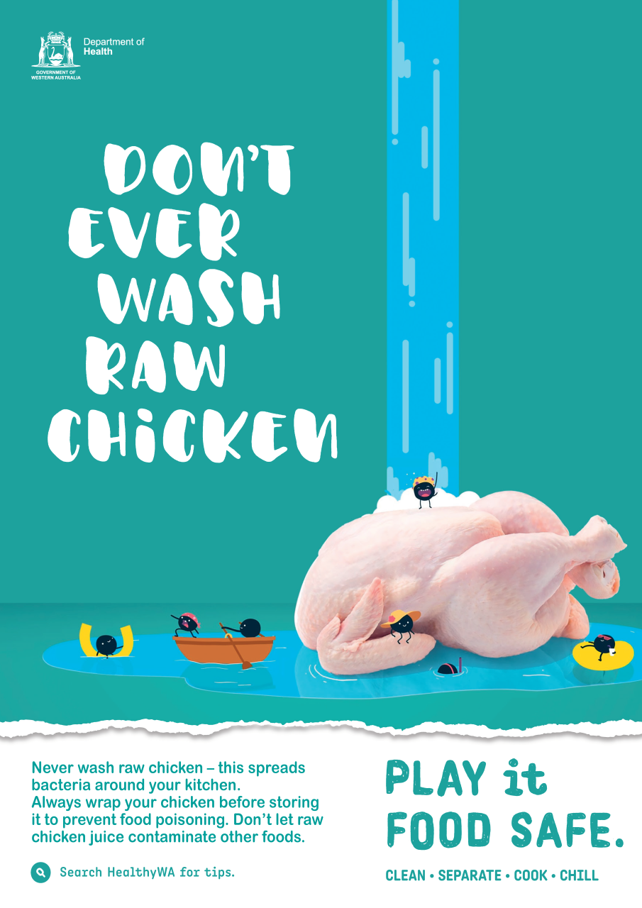 Play It Food Safe Campaign