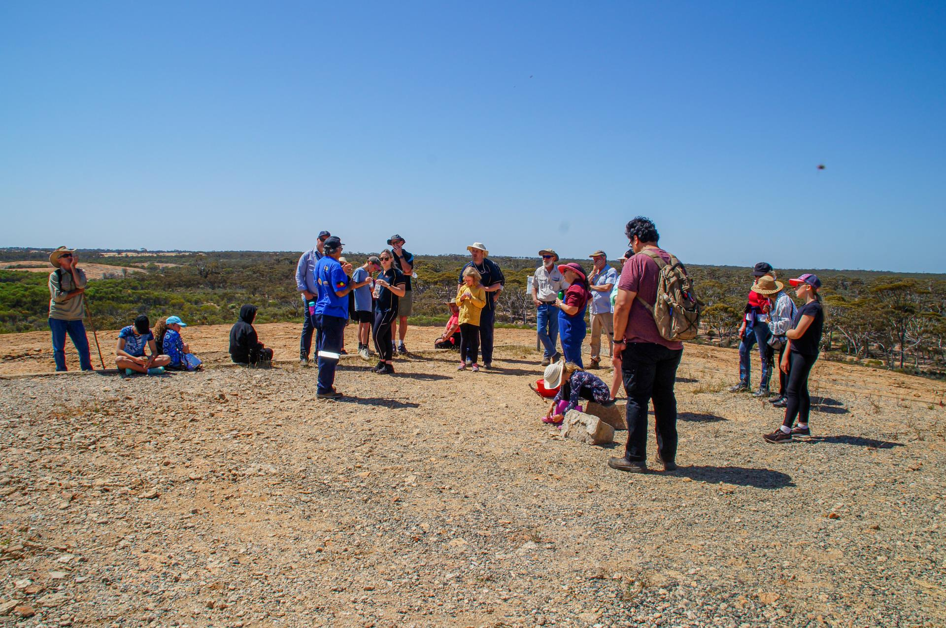 Merredin Peak Cultural Tour a Huge Success!