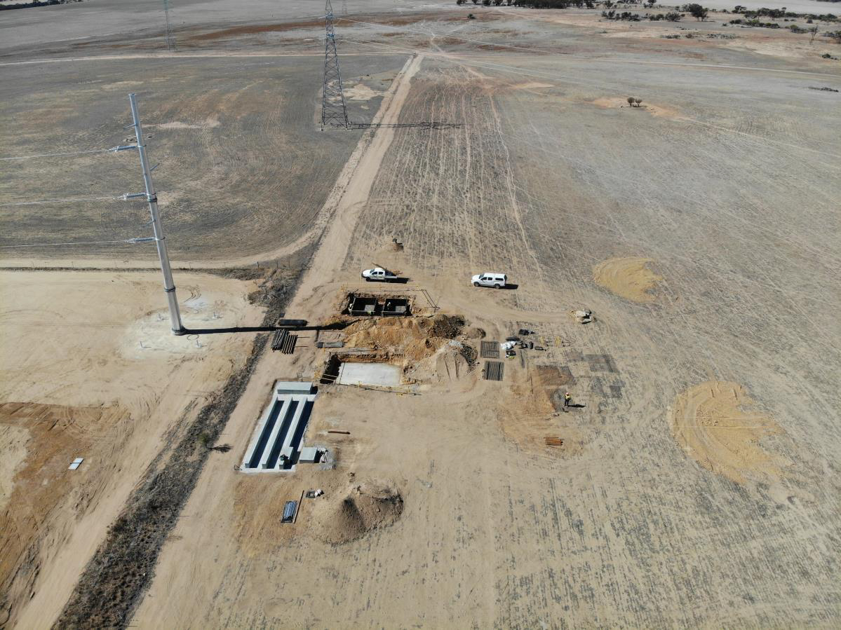 UPDATE: CONSTRUCTION UNDERWAY FOR THE MERREDIN SOLAR FARM